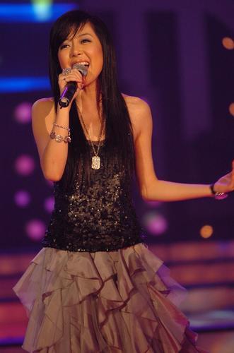"""图文:2005""""超级女声""""总决选现场―14"""