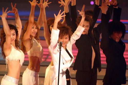 """图文:2005""""超级女声""""总决选现场―20"""