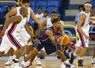 美国世锦赛预选赛遭遇两连败 篮球大国形象受损