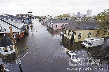 飓风登陆新奥尔良(组图)