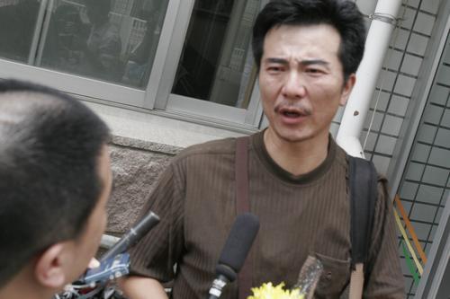 图文:著名演员傅彪病逝-