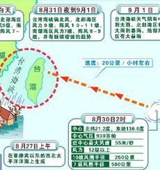 图文:台风泰利奔袭我国大陆东南和台湾东部