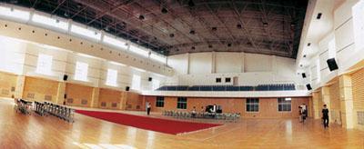 郑州外国语学校体育馆