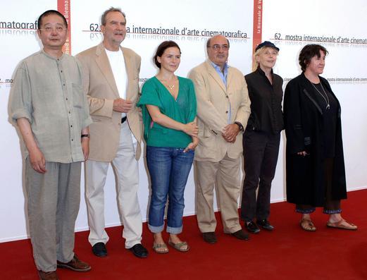 62届威尼斯电影节:评委会华人作家阿城亮相