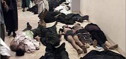 巴格达医院走廊摆满遇难者尸体