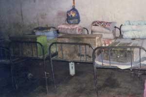 青海省化隆县中学生的宿舍