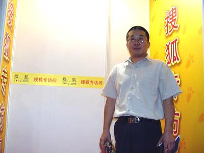 图:《钱经》杂志副主编江勇