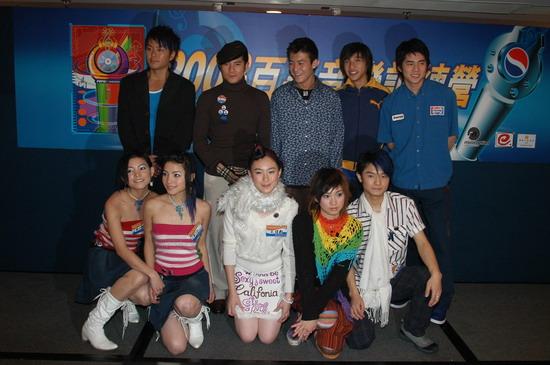 图文:2003百事新星大赛训练营-9