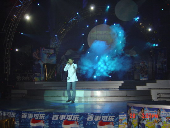 图文:2004百事新星大赛河北赛区-1