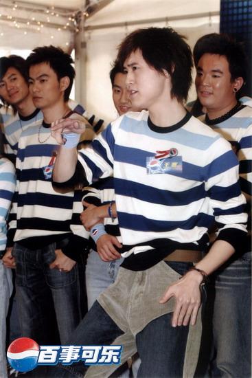 图文:2004百事新星大赛北京冠军-3