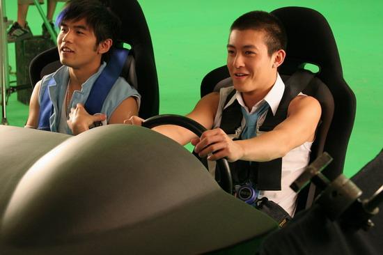图文:2005百事新星大赛-代言人陈冠希1