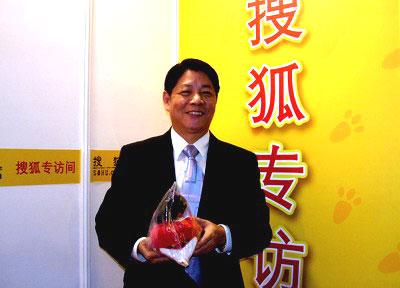图:友邦保险北京分公司总经理徐水俊