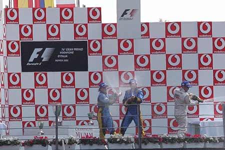 蒙托亚获意大利站冠军 法拉利一分未得败兴离去