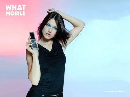 三点美女模特展示未来超强的3g 搜狐数码