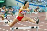 图文:黄潇潇折桂女子400米栏 打破赛会纪录