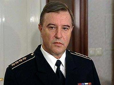 俄海军连出事故 海军司令库罗耶多夫被普京解职