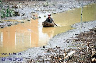 """""""泰利""""致安徽76人死亡 1.1亿救灾款急拨灾区"""