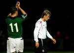 图文:英格兰客场0-1北爱尔兰 贝克汉姆黯然离场