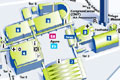车展展馆地图