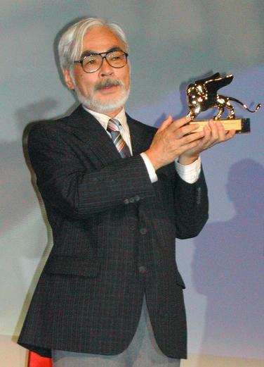 日本动画大师宫崎骏获威尼斯影展终身成就奖