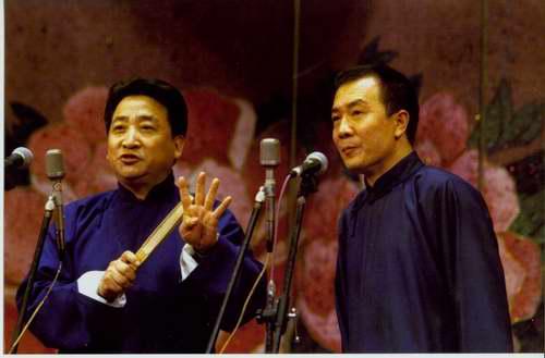 图:相声名家纪念大师郭启儒诞辰―姜昆