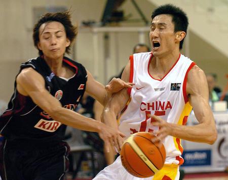 图文:男篮亚锦赛中国胜日本