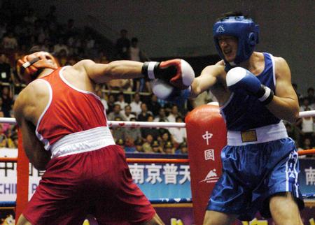 [十运会](16)拳击�D�D十运会拳击产生六金