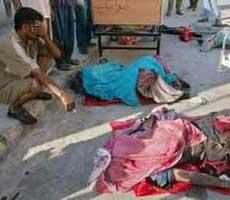 巴格达自杀式爆炸 市区示意图