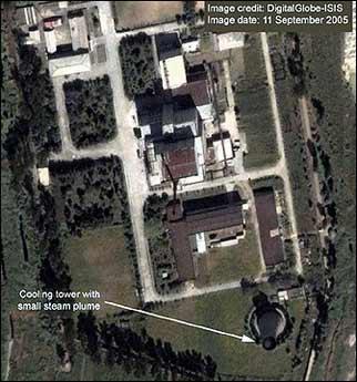 美机构公开卫星照片 称朝鲜恢复运行一核反应堆