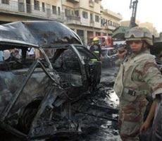 巴格达发生自杀式汽车爆炸事件