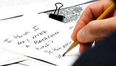 美总统布什在安理会开会期间给赖斯写便条(图)