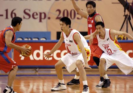 图文:男篮亚锦赛中国胜韩国