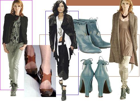 服装:秋日短靴,拉长比例秀美腿