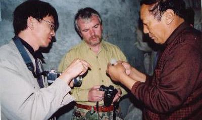 03年国际藏羚羊执法需求评估团到可可西里考察