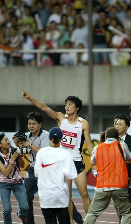 [体坛聚焦](4)田径�D�D上海国际田径黄金大奖赛:刘翔夺冠