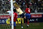 独家图片:中国1-0哥斯达黎加 中国队攻势甚猛