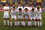 独家图片:中国1-1哥斯达黎加 国少队首发阵容