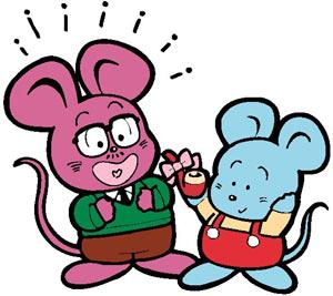 卡通形象--老鼠;