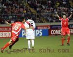 图文:世少赛中国vs秘鲁 中国队领先