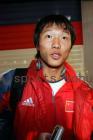 图文:世少赛-中国1-0战胜秘鲁 邓卓翔接受采访