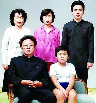 日本媒体关注金正日三儿子 老二金正哲最有出息