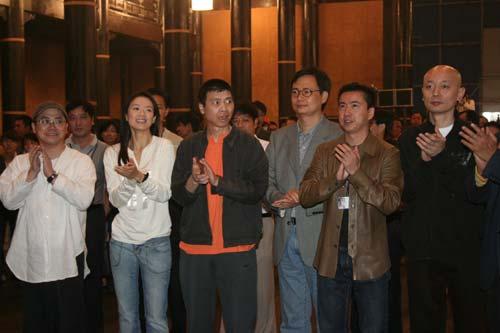 组图:《夜宴》北京开境 章子怡剃眉造型曝光