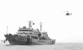 最大海上巡视船南中国海巡航