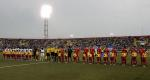 图文:国少1-1加纳顺利晋级 双方球员出场亮相