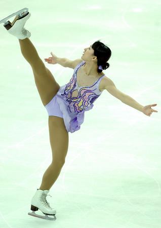 图文:十运会花样滑冰女子单人滑