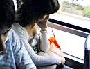 手机偷拍公交车MM