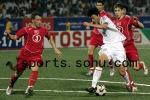 图文:世少赛-中国1-5土耳其 杨旭力压后卫