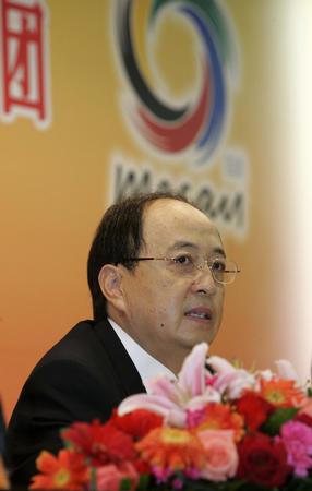 [体育](3)东亚运动会中国代表团新闻发布会在京举行