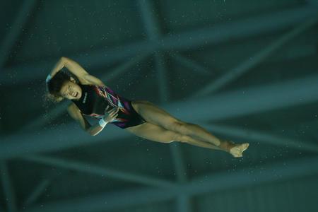 图文:女子跳水团体决赛