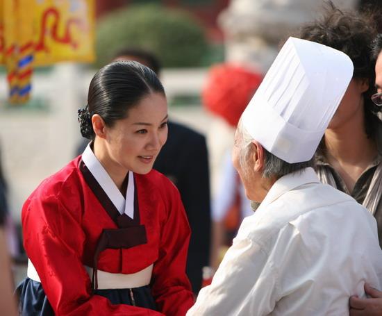 组图:韩尚宫亲点中韩佳肴 大赞中国美食好味